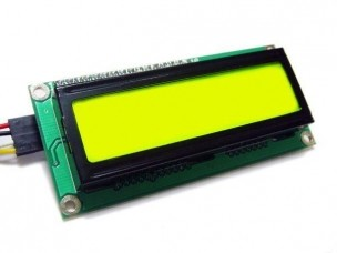 Дисплей LCD 1602 (желто-зеленый)