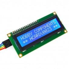 Дисплей LCD 1602 (бело-голубой)