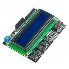 Дисплей LCD 1602 c кнопками