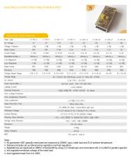 Характеристики блоков питания серии S-100