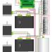 Схема подключения коммутационной платы DB25